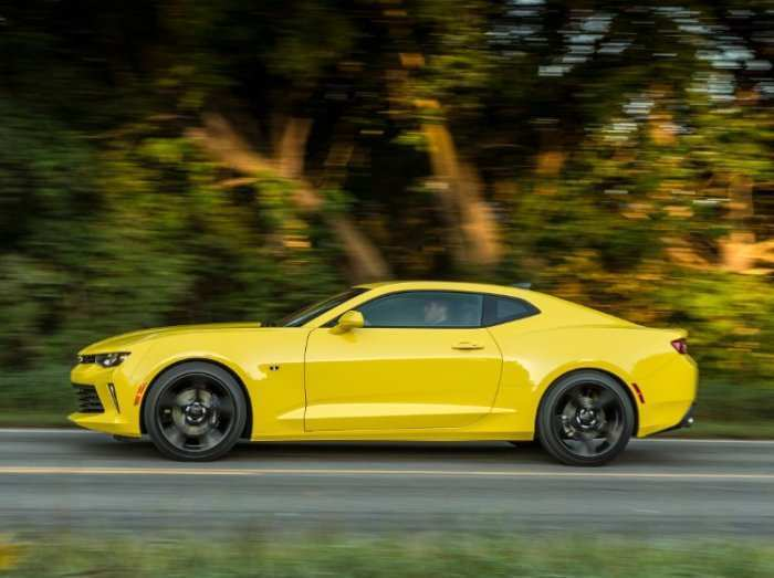81 All New The 2019 Chevrolet Camaro Yellow Exterior Research New by The 2019 Chevrolet Camaro Yellow Exterior