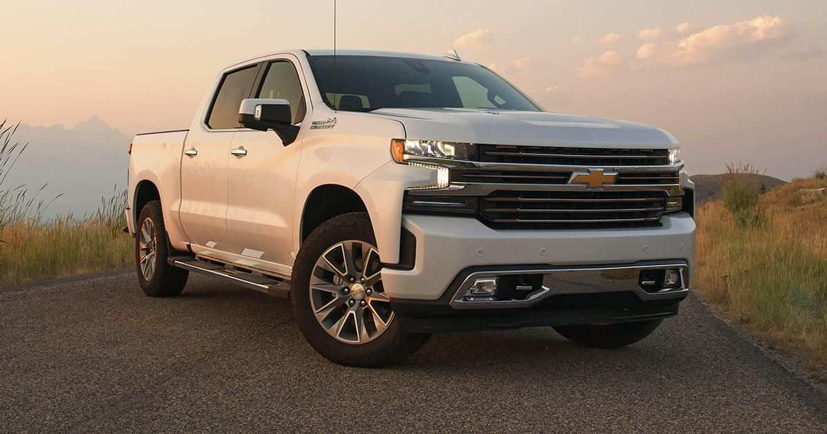 81 Best Review New 2019 Chevrolet Silverado Aluminum First Drive Redesign and Concept by New 2019 Chevrolet Silverado Aluminum First Drive