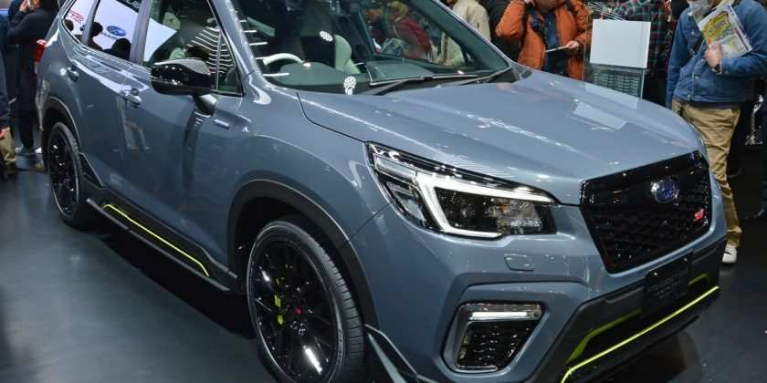 81 Best Review The 2019 Subaru Forester Sport Concept New Concept for The 2019 Subaru Forester Sport Concept