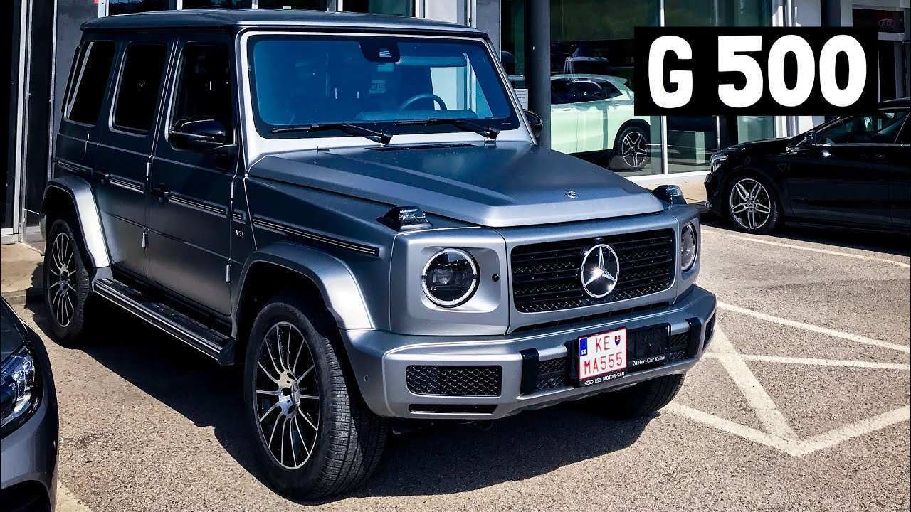 82 All New The Mercedes G 2019 Review Interior Concept with The Mercedes G 2019 Review Interior