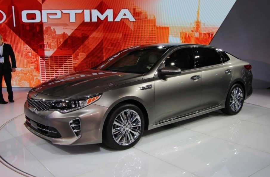 82 Gallery of The 2019 Kia Optima Concept Exterior and Interior with The 2019 Kia Optima Concept