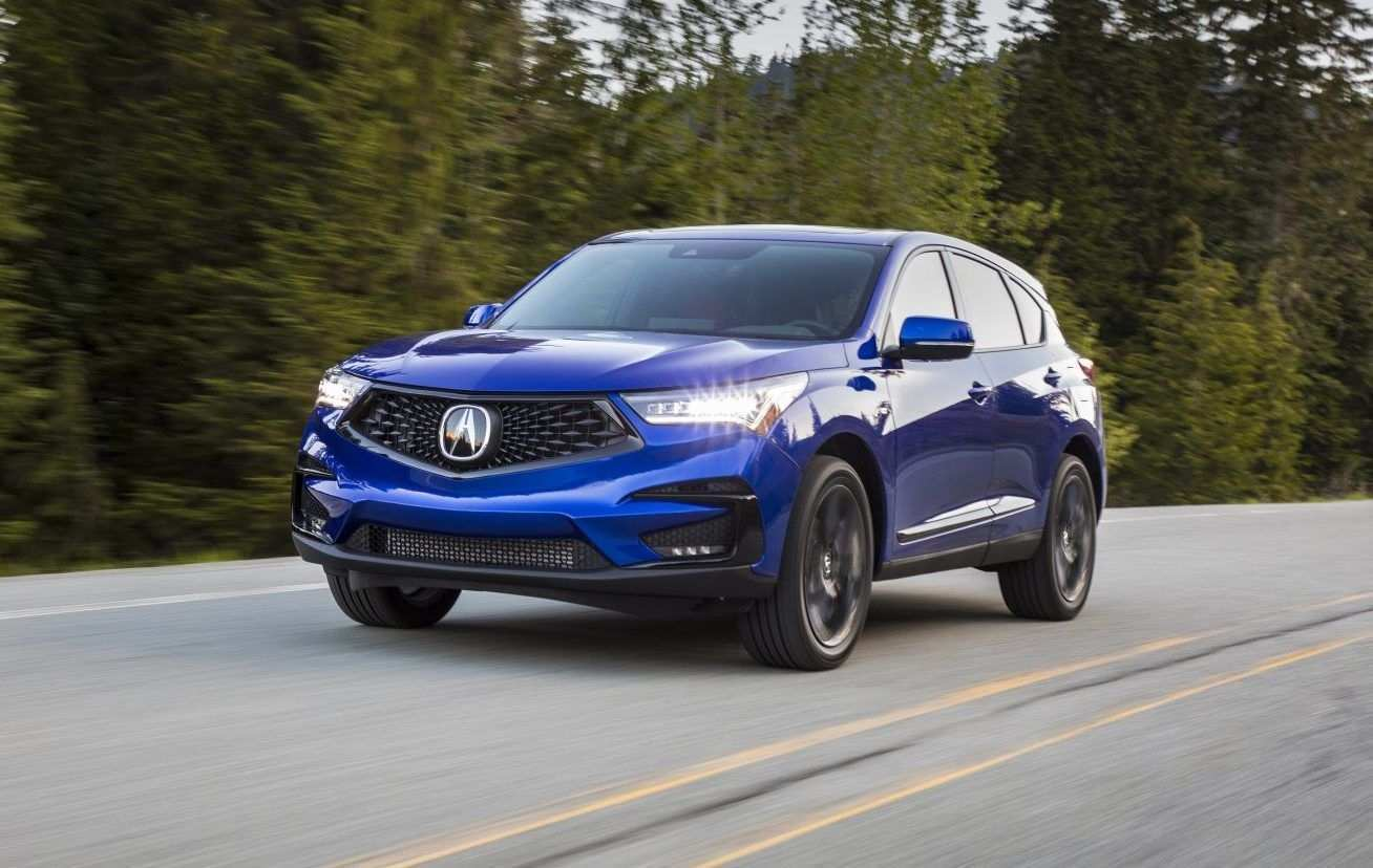 83 All New New 2019 Acura Rdx Zero To 60 Spy Shoot Redesign and Concept by New 2019 Acura Rdx Zero To 60 Spy Shoot