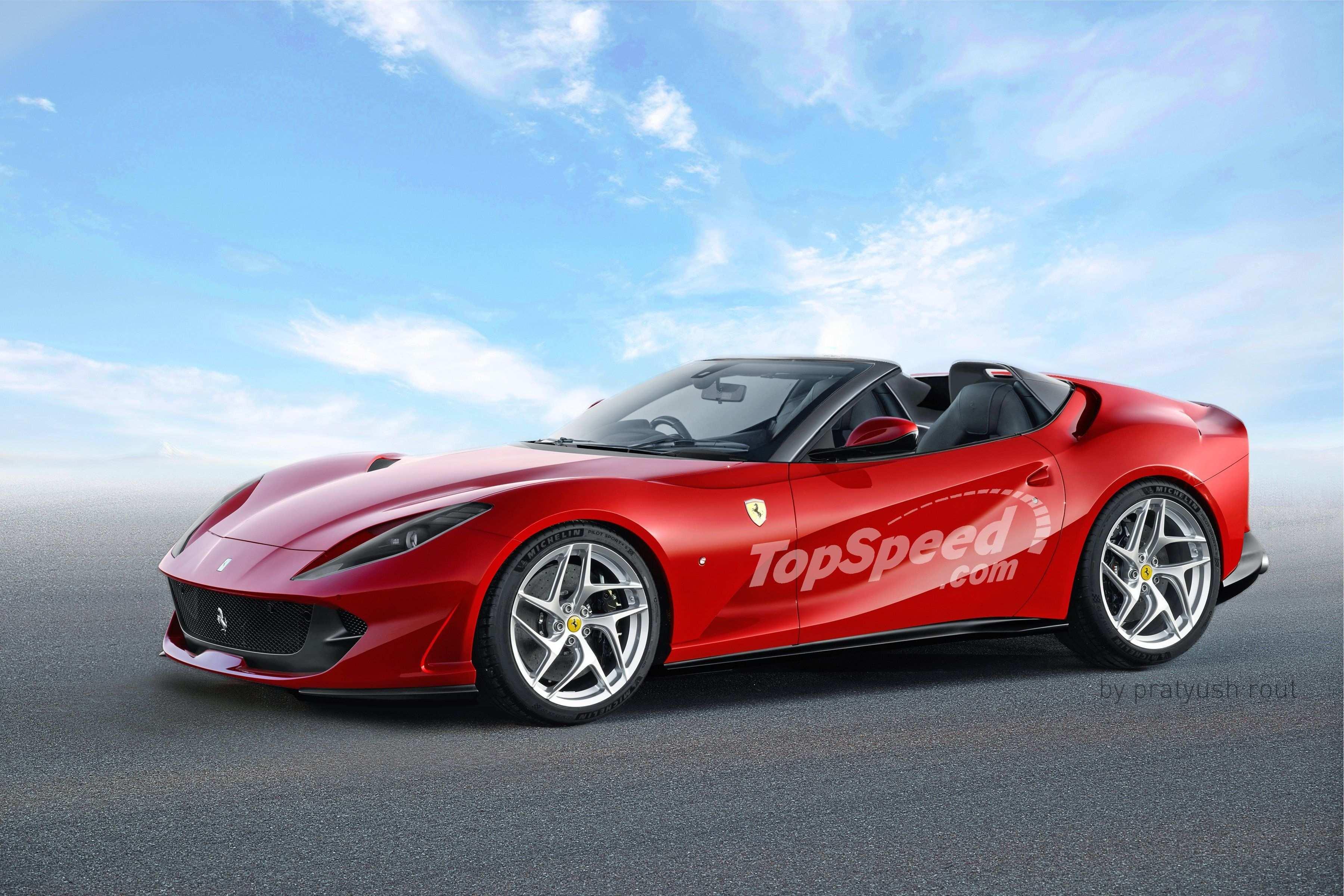 83 Best Review The La Nuova Ferrari 2019 First Drive Spy Shoot with The La Nuova Ferrari 2019 First Drive