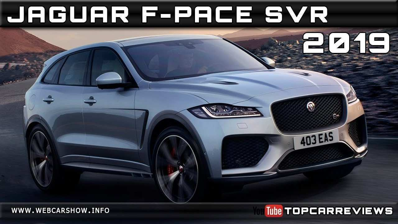 83 Concept of 2019 Jaguar F Pace Svr Price Price Specs and Review with 2019 Jaguar F Pace Svr Price Price