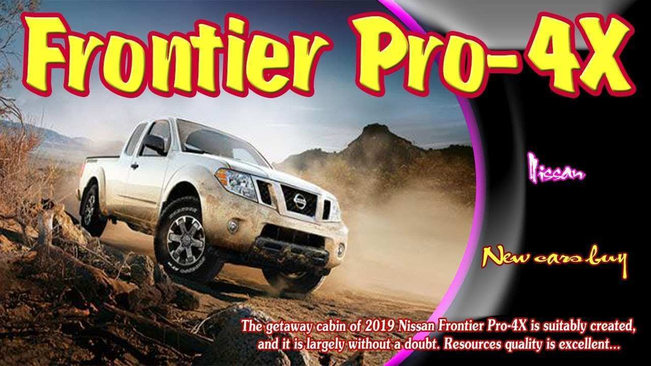 83 Concept of New 2019 Nissan Frontier Pro 4X Release Date Price And Review Research New with New 2019 Nissan Frontier Pro 4X Release Date Price And Review