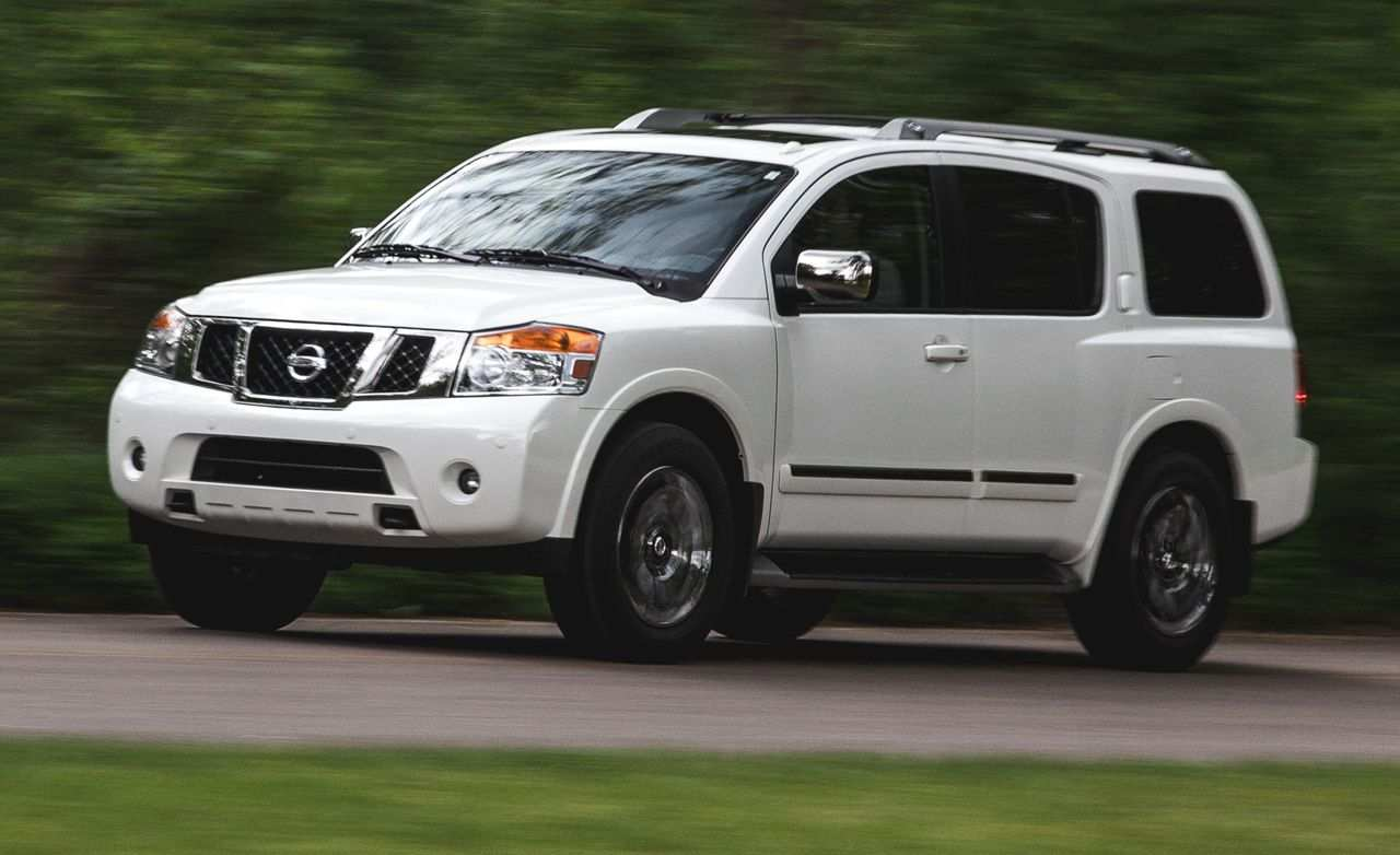 83 The Nissan Armada 2019 Overview Images with Nissan Armada 2019 Overview