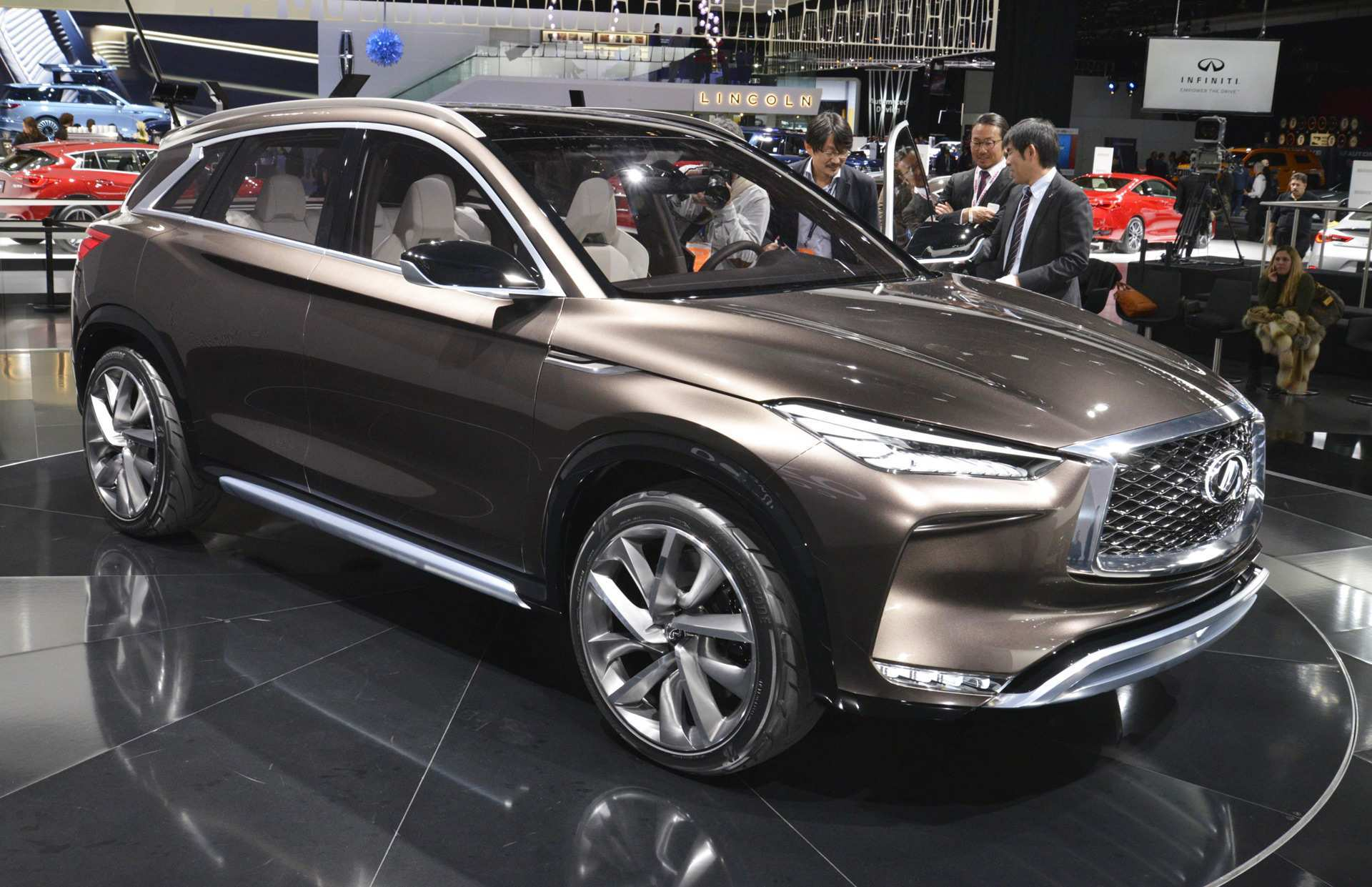 85 Best Review The Infiniti Qx50 2019 Hybrid Concept Performance and New Engine with The Infiniti Qx50 2019 Hybrid Concept
