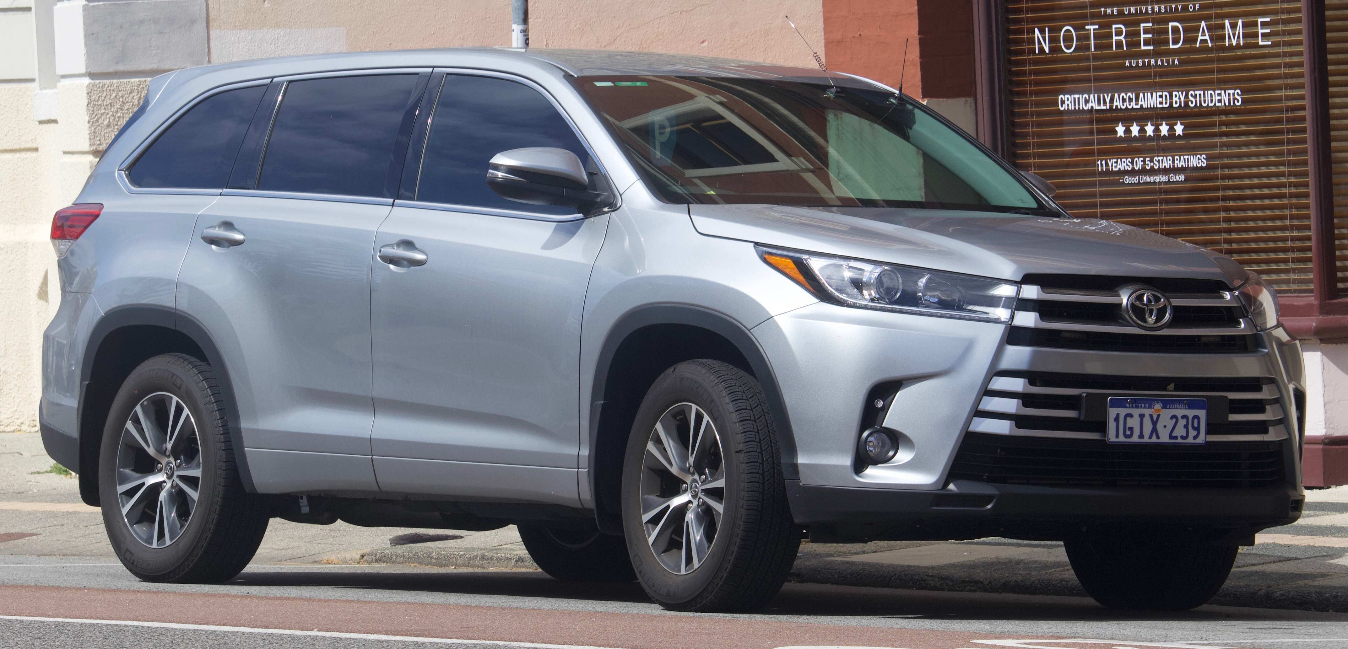 85 Best Review The Toyota Highlander 2019 Redesign Concept Spesification for The Toyota Highlander 2019 Redesign Concept