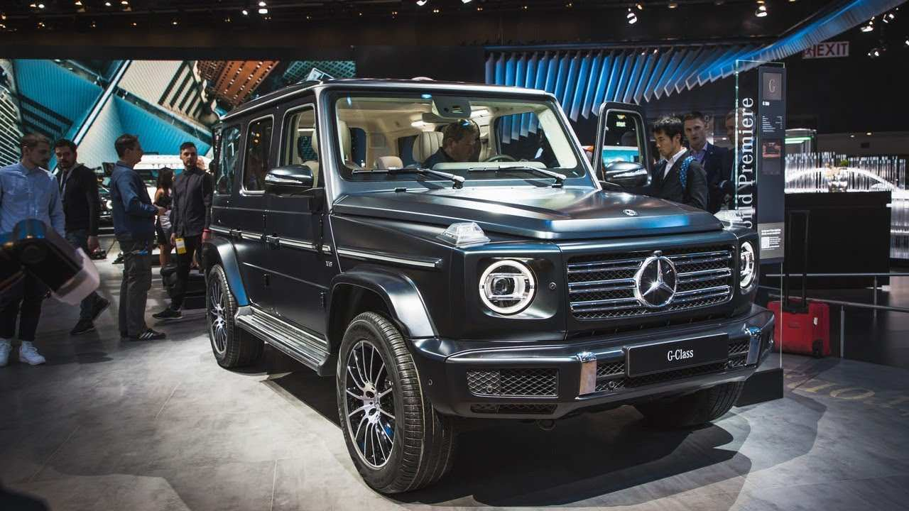 85 Gallery of Mercedes G Class 2019 Youtube Review And Price Exterior and Interior for Mercedes G Class 2019 Youtube Review And Price