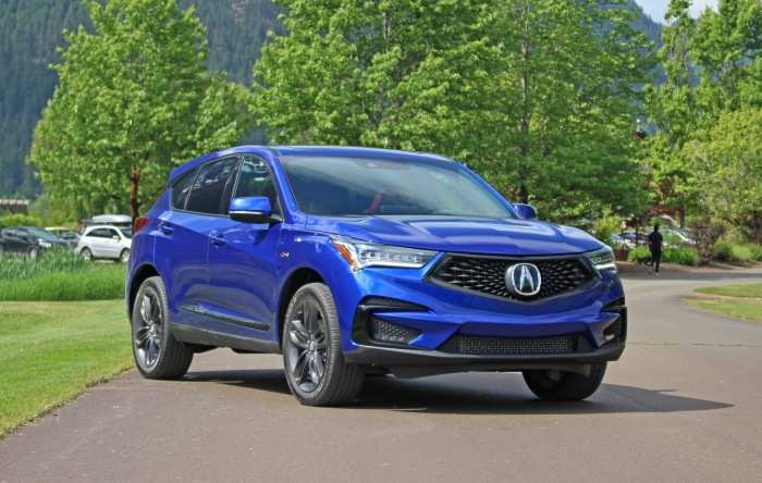 85 Great Acura 2019 Crossover First Drive Concept for Acura 2019 Crossover First Drive