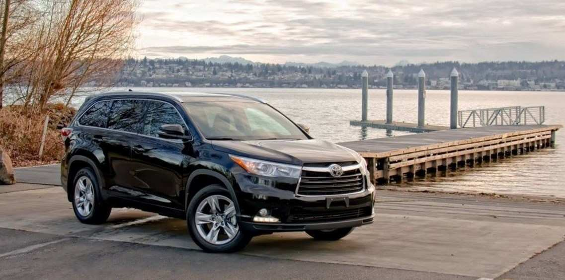 85 New The Toyota Highlander 2019 Redesign Concept Style for The Toyota Highlander 2019 Redesign Concept