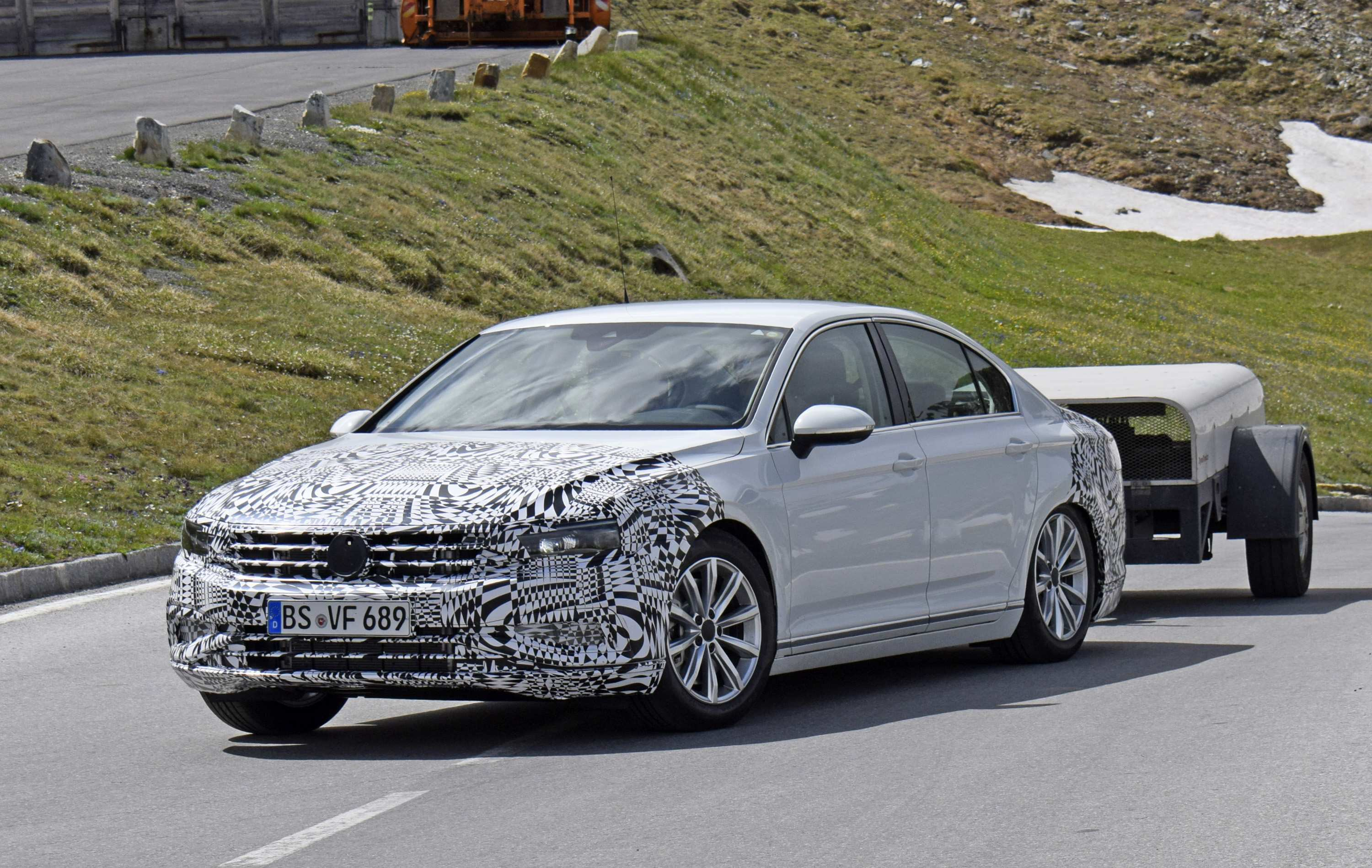 86 Great The Volkswagen Passat 2019 Interior Spy Shoot Configurations by The Volkswagen Passat 2019 Interior Spy Shoot