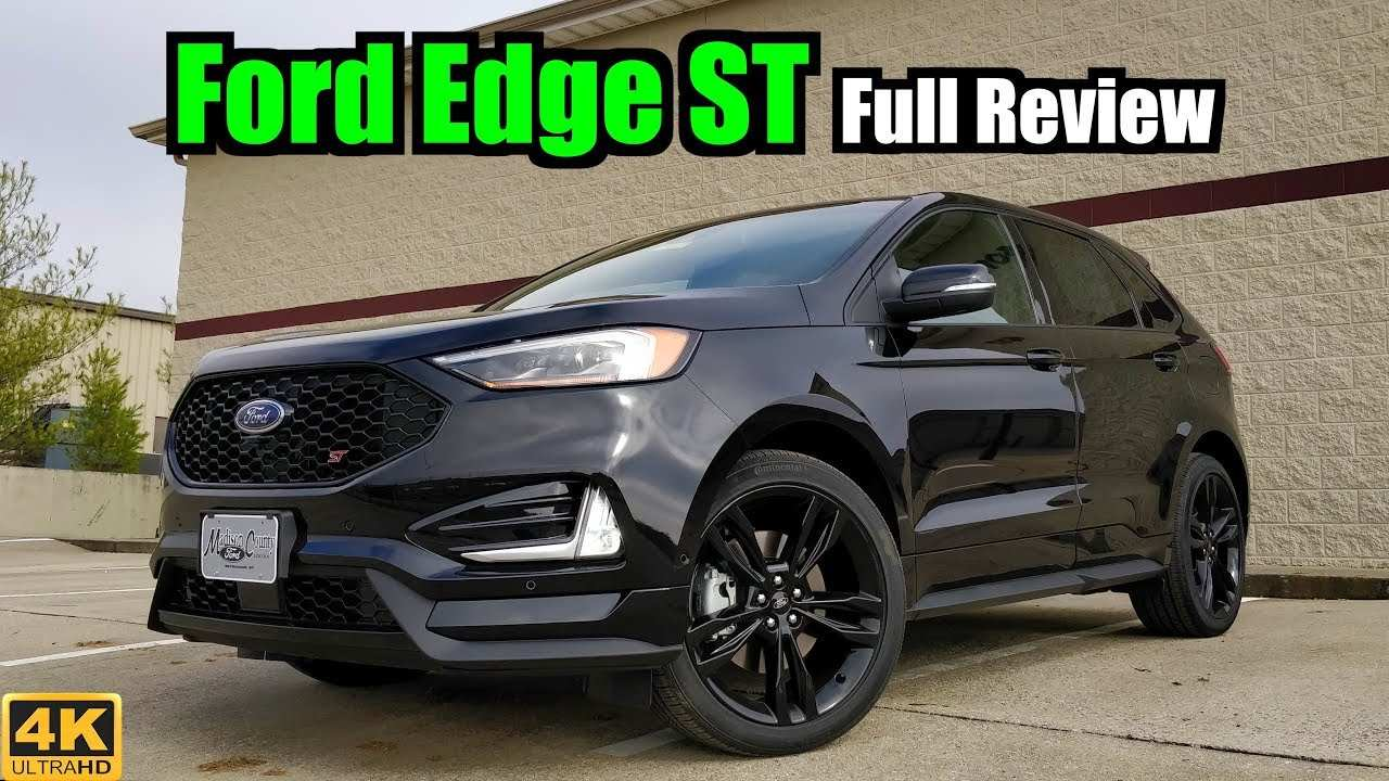 86 The The 2019 Ford Edge St Youtube Overview And Price Spy Shoot with The 2019 Ford Edge St Youtube Overview And Price