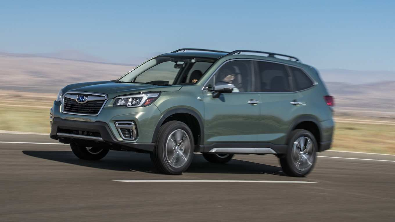 86 The The 2019 Subaru Forester Sport Concept Model by The 2019 Subaru Forester Sport Concept