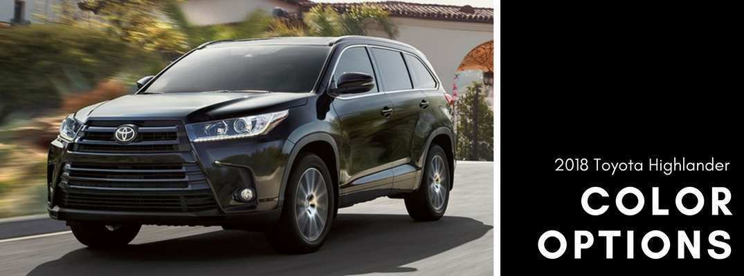 86 The Toyota 2019 Highlander Colors Overview Redesign and Concept with Toyota 2019 Highlander Colors Overview