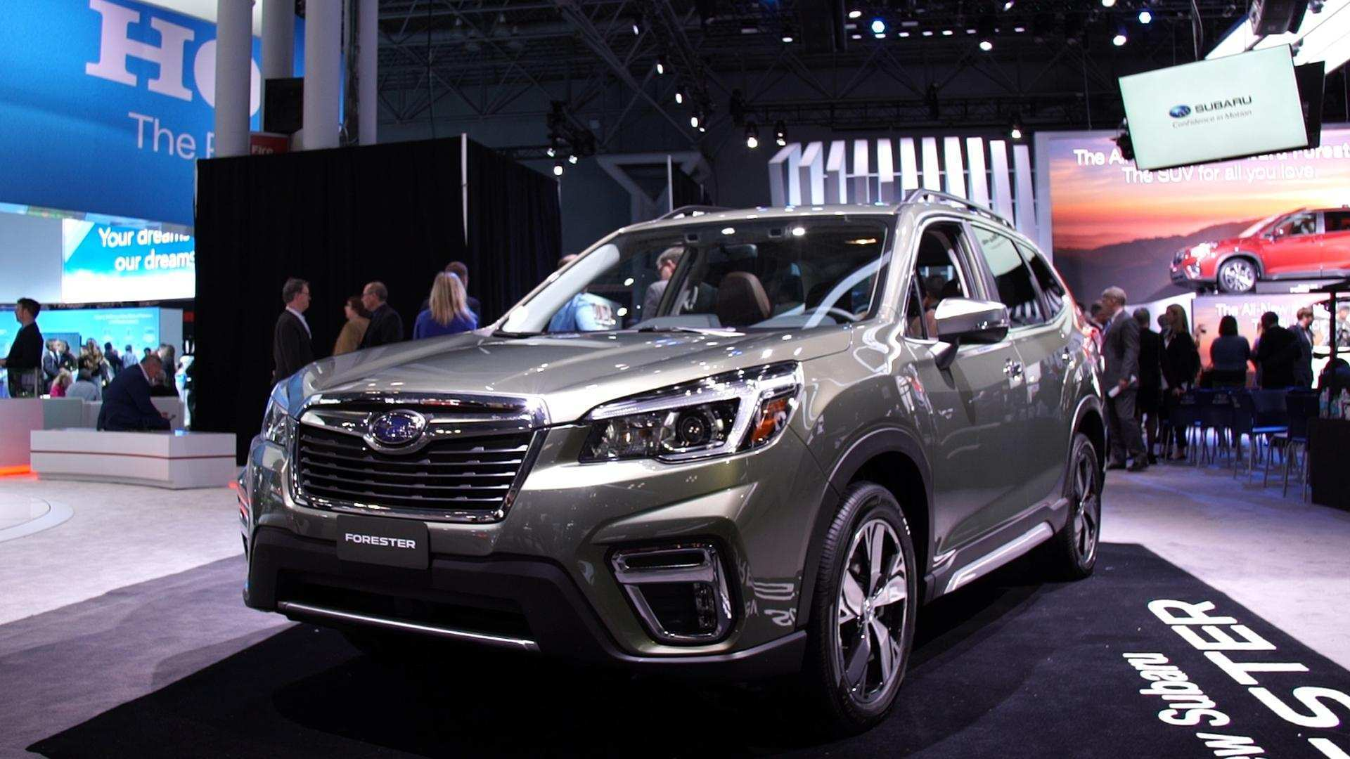 87 All New 2019 Subaru Forester Mpg Performance with 2019 Subaru Forester Mpg