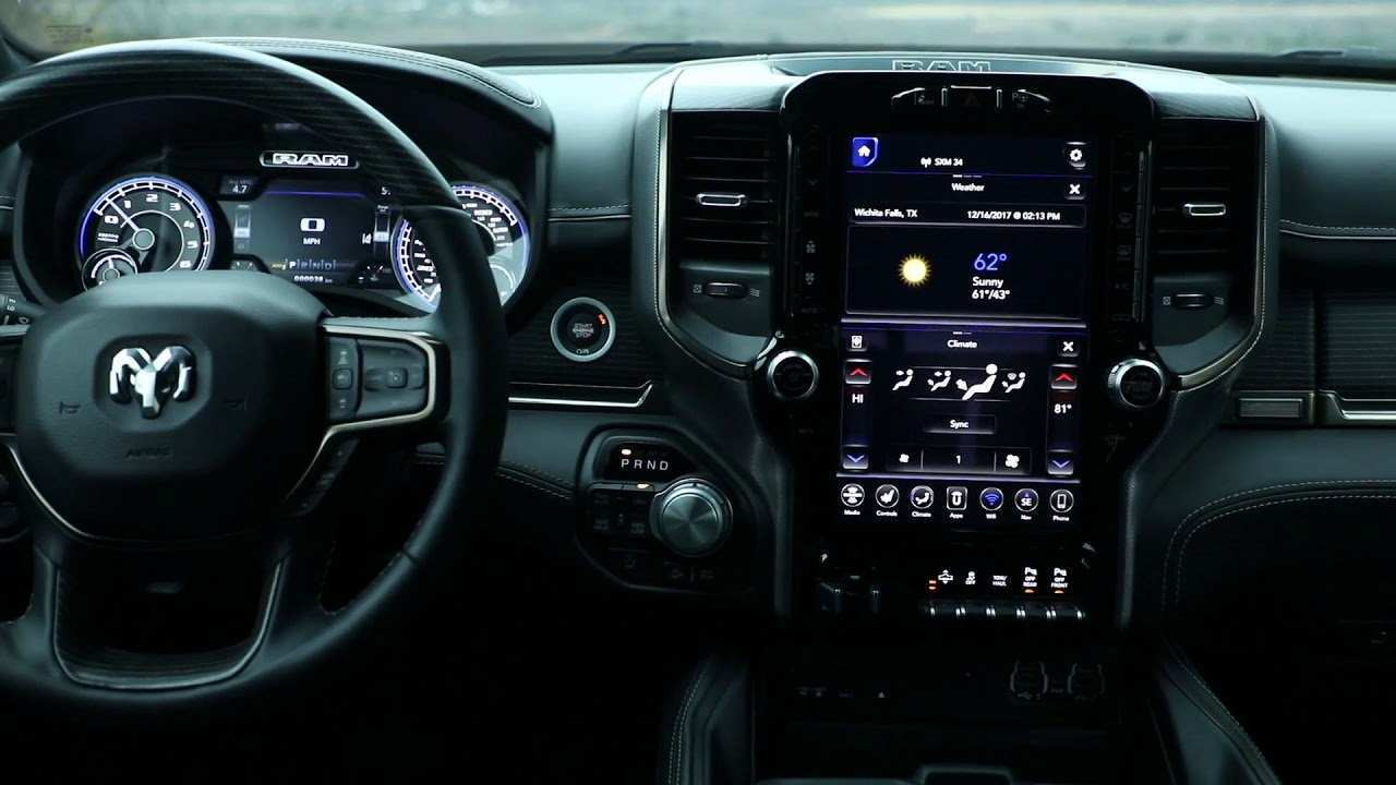 87 Best Review 2019 Dodge Ram Interior Redesign Rumors for 2019 Dodge Ram Interior Redesign