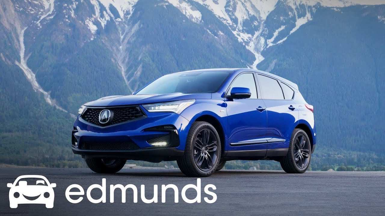 87 Best Review Acura 2019 Crossover First Drive Overview with Acura 2019 Crossover First Drive