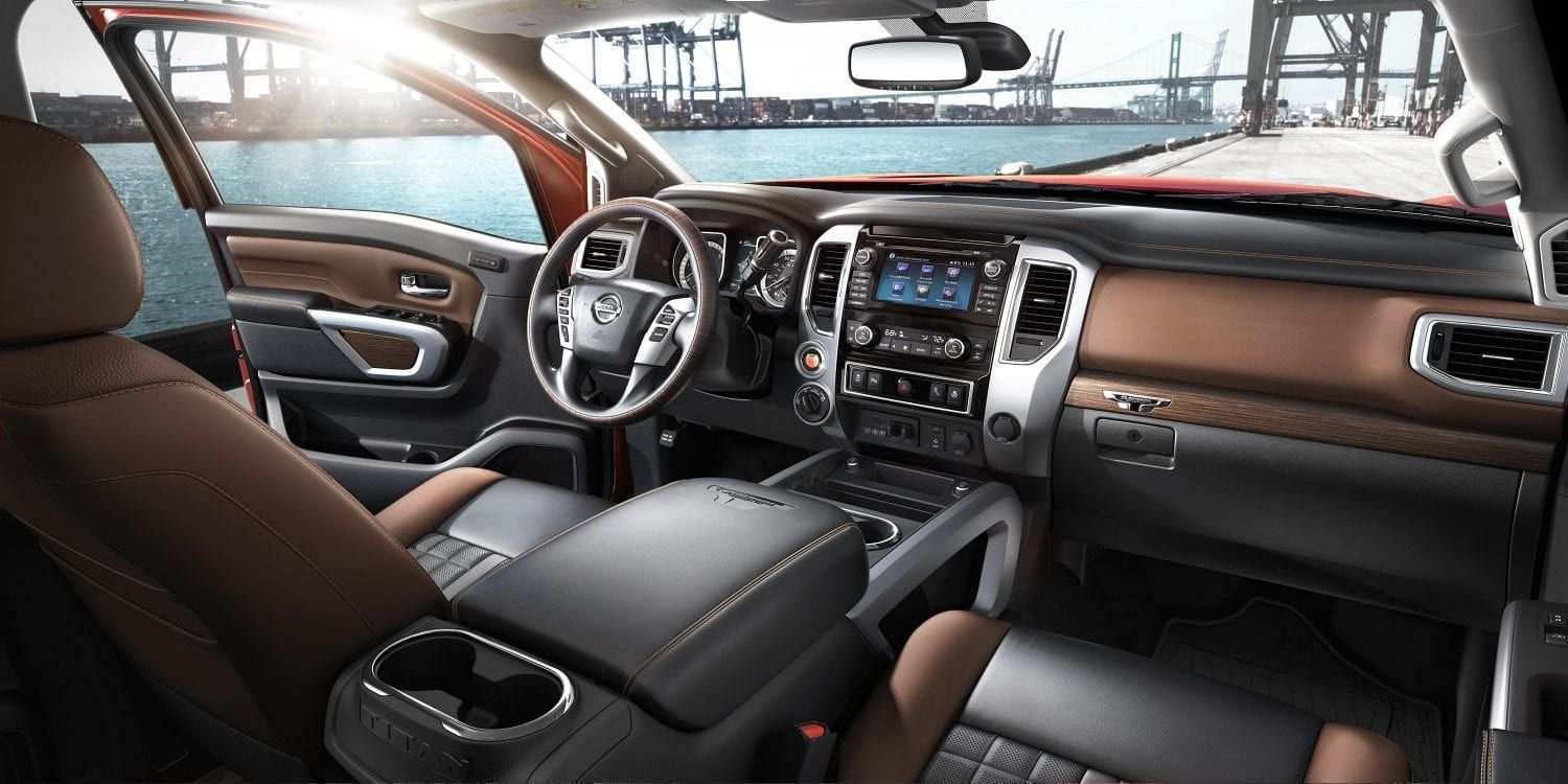 87 Concept of 2019 Nissan Titan Interior Exterior and Interior for 2019 Nissan Titan Interior