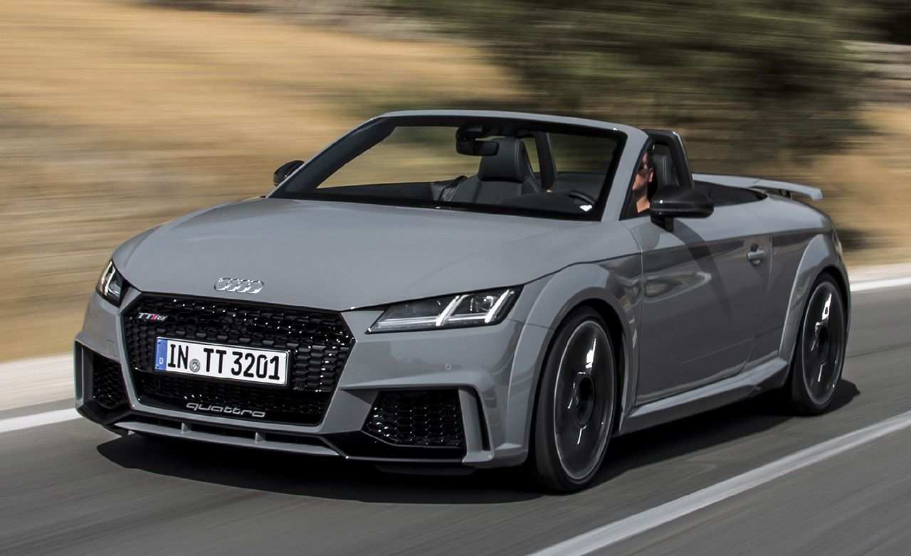 87 Gallery of New Audi Tt Rs Plus 2019 Price And Review Spy Shoot with New Audi Tt Rs Plus 2019 Price And Review