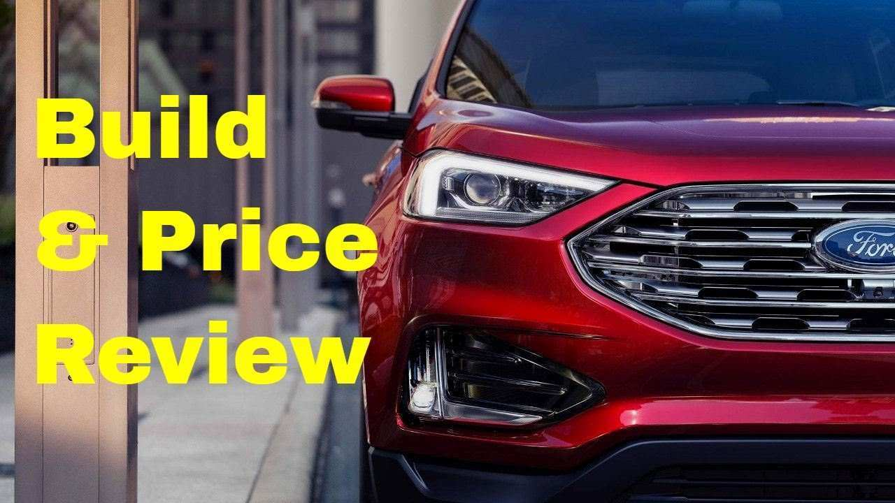 88 Concept of The 2019 Ford Edge St Youtube Overview And Price Pricing by The 2019 Ford Edge St Youtube Overview And Price