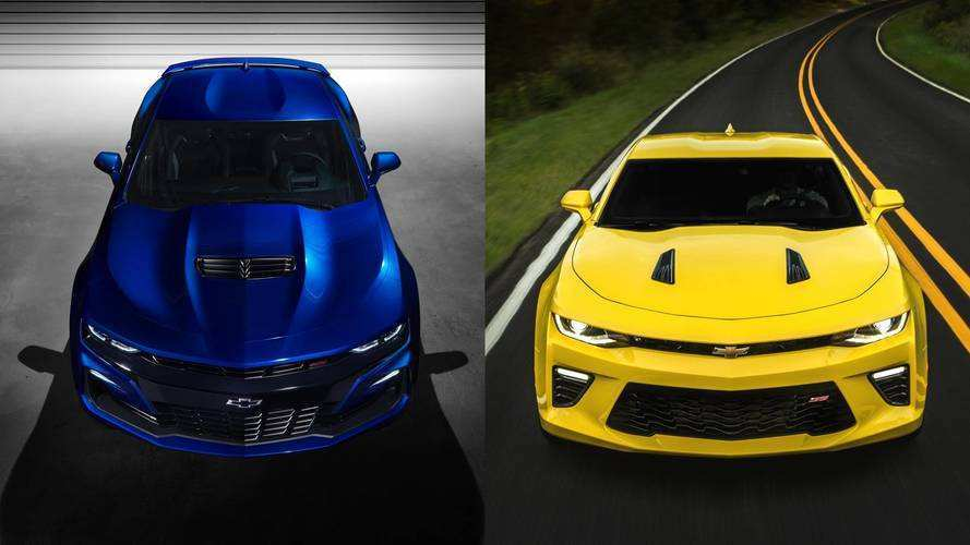 89 Concept of The 2019 Chevrolet Camaro Yellow Exterior Rumors for The 2019 Chevrolet Camaro Yellow Exterior
