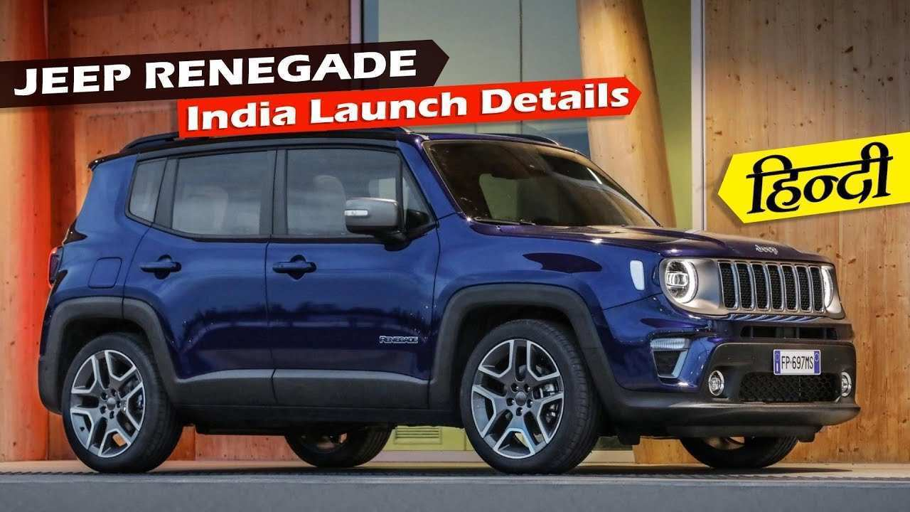 90 All New The Jeep Renegade 2019 India New Review Exterior by The Jeep Renegade 2019 India New Review