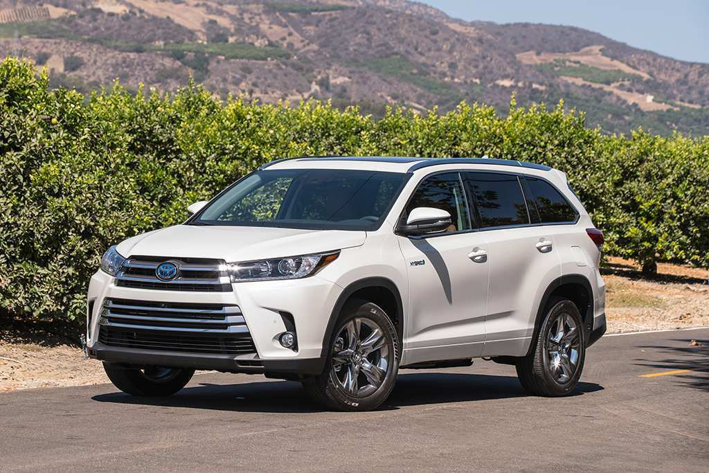 90 Concept of Toyota 2019 Highlander Colors Overview Price and Review with Toyota 2019 Highlander Colors Overview