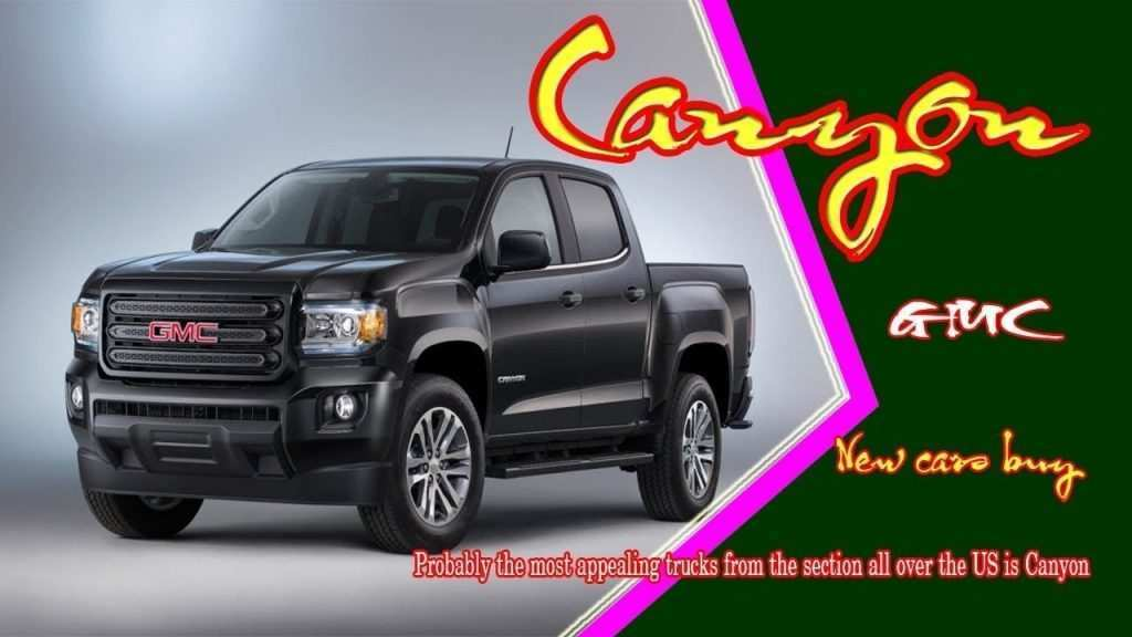 90 Gallery of Best Gmc 2019 Canyon Release Date Exterior Redesign and Concept with Best Gmc 2019 Canyon Release Date Exterior