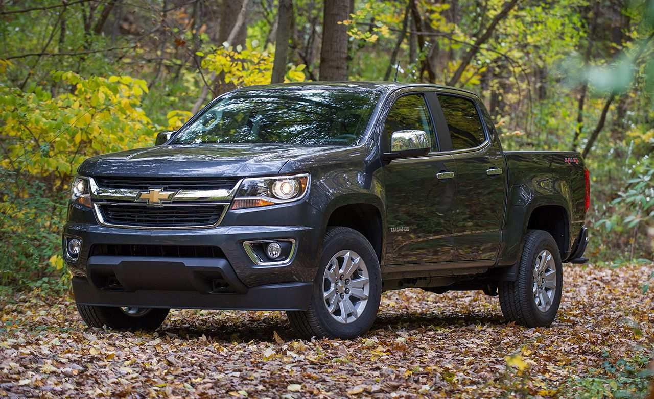 90 Great The Gmc Colorado 2019 Redesign Price And Review Exterior with The Gmc Colorado 2019 Redesign Price And Review
