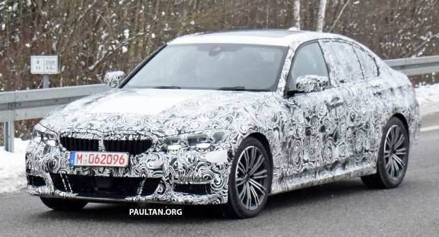 90 New 2019 Bmw 3 Series Electric Spy Shoot Interior for 2019 Bmw 3 Series Electric Spy Shoot