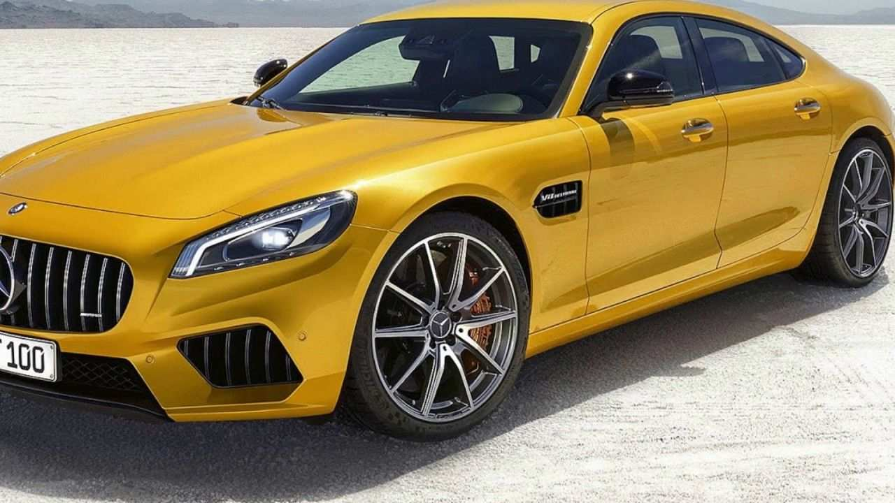 91 The Mercedes 2019 Amg Gt4 Images with Mercedes 2019 Amg Gt4