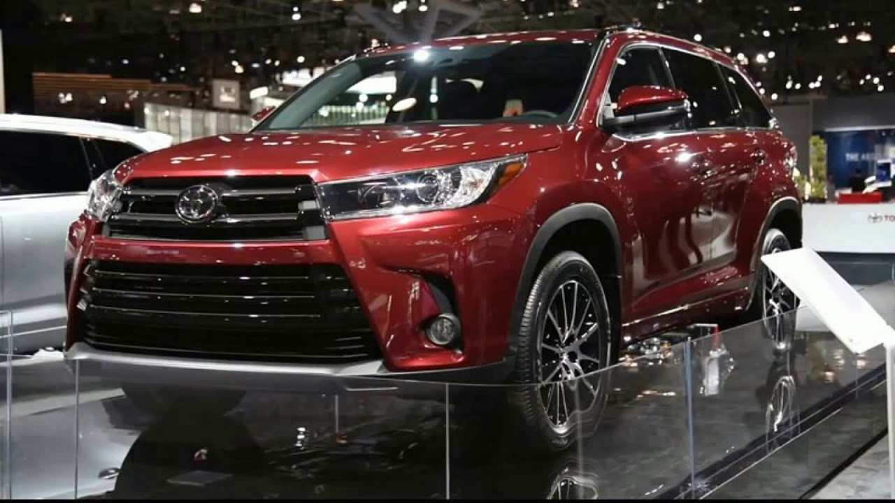 92 Concept of The Toyota Highlander 2019 Redesign Concept First Drive with The Toyota Highlander 2019 Redesign Concept