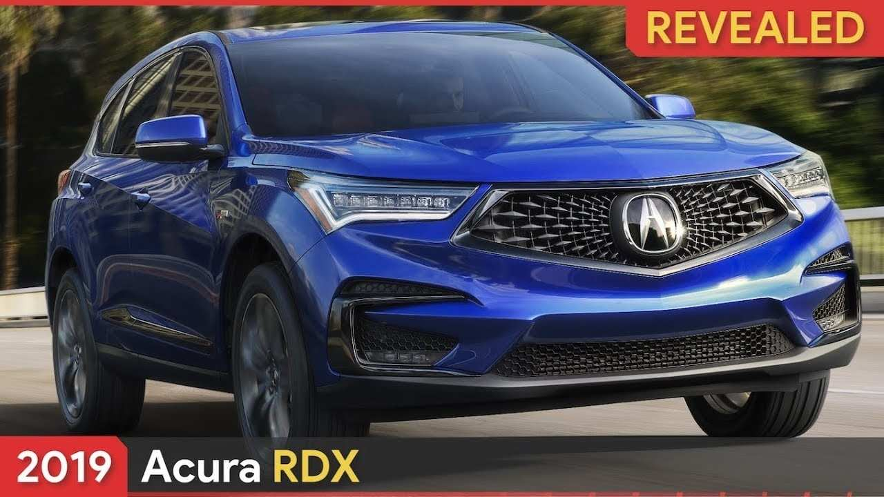 92 New New Acura Rdx 2019 First Drive Release Date And Specs Redesign and Concept for New Acura Rdx 2019 First Drive Release Date And Specs
