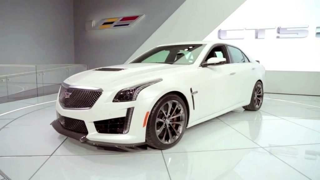 92 The New 2019 Cadillac Cts V Hp First Drive Redesign and Concept by New 2019 Cadillac Cts V Hp First Drive