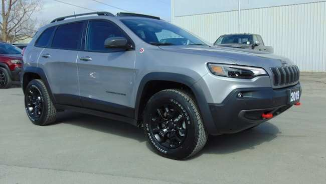 94 Great New 2019 Jeep New Cherokee Trailhawk Elite Spesification Exterior and Interior with New 2019 Jeep New Cherokee Trailhawk Elite Spesification
