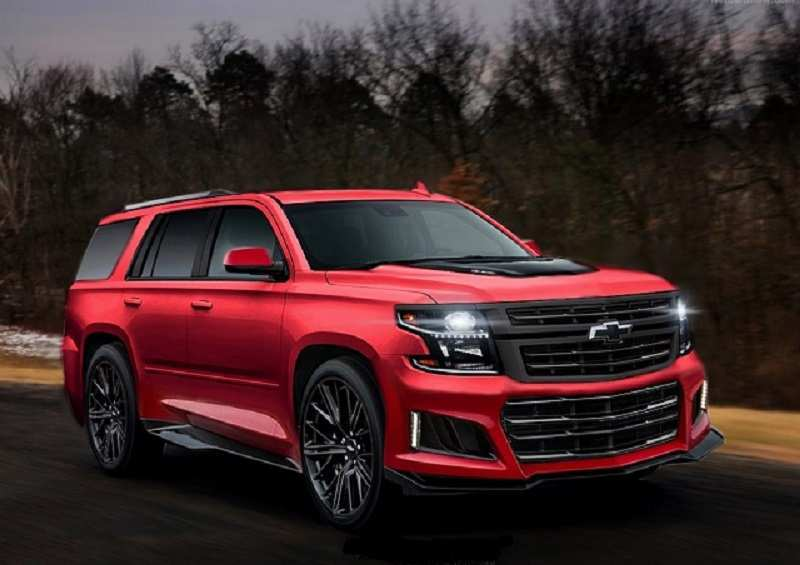 94 New New Chevrolet 2019 Tahoe Concept First Drive for New Chevrolet 2019 Tahoe Concept