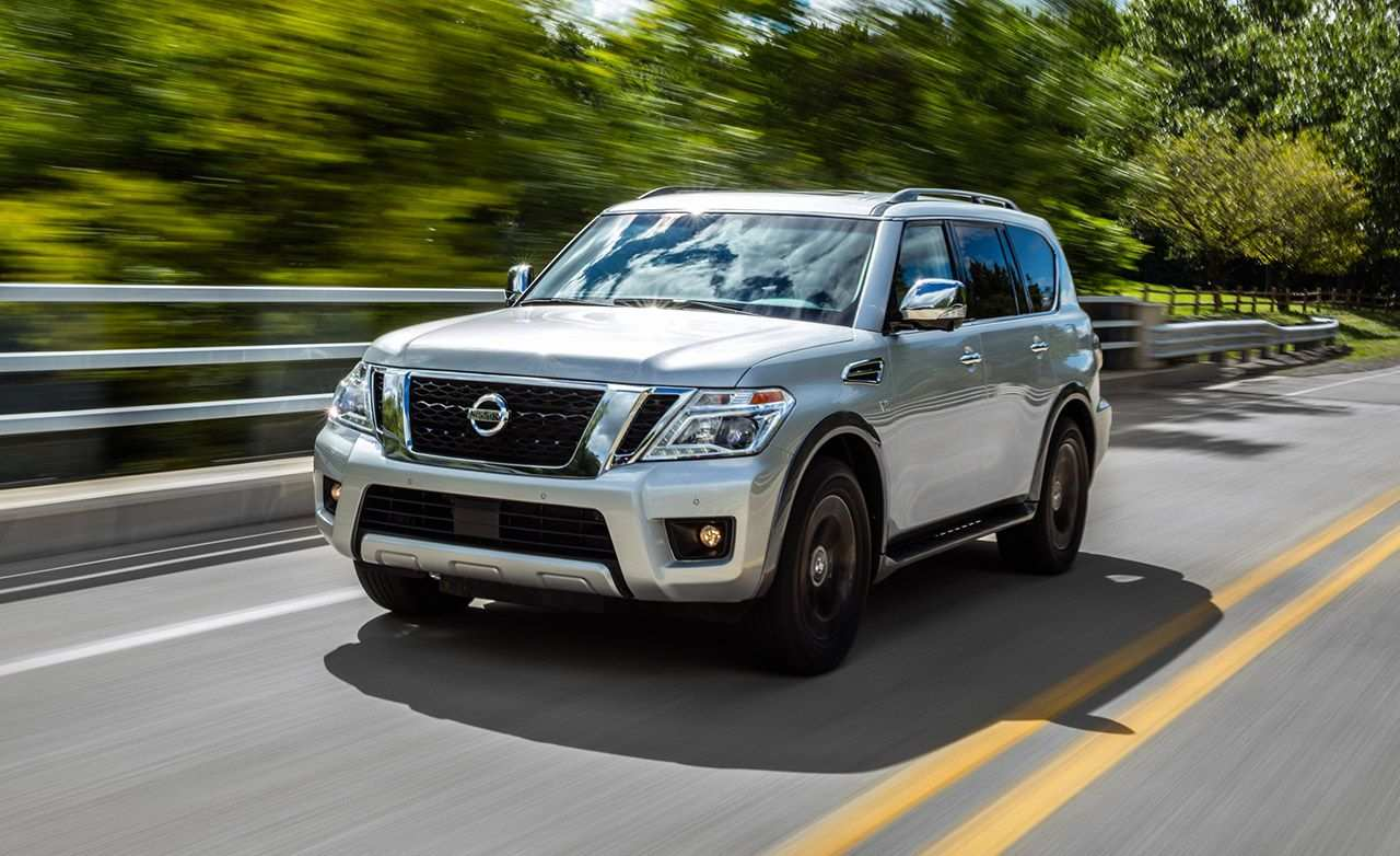 94 The Nissan Armada 2019 Overview New Review for Nissan Armada 2019 Overview