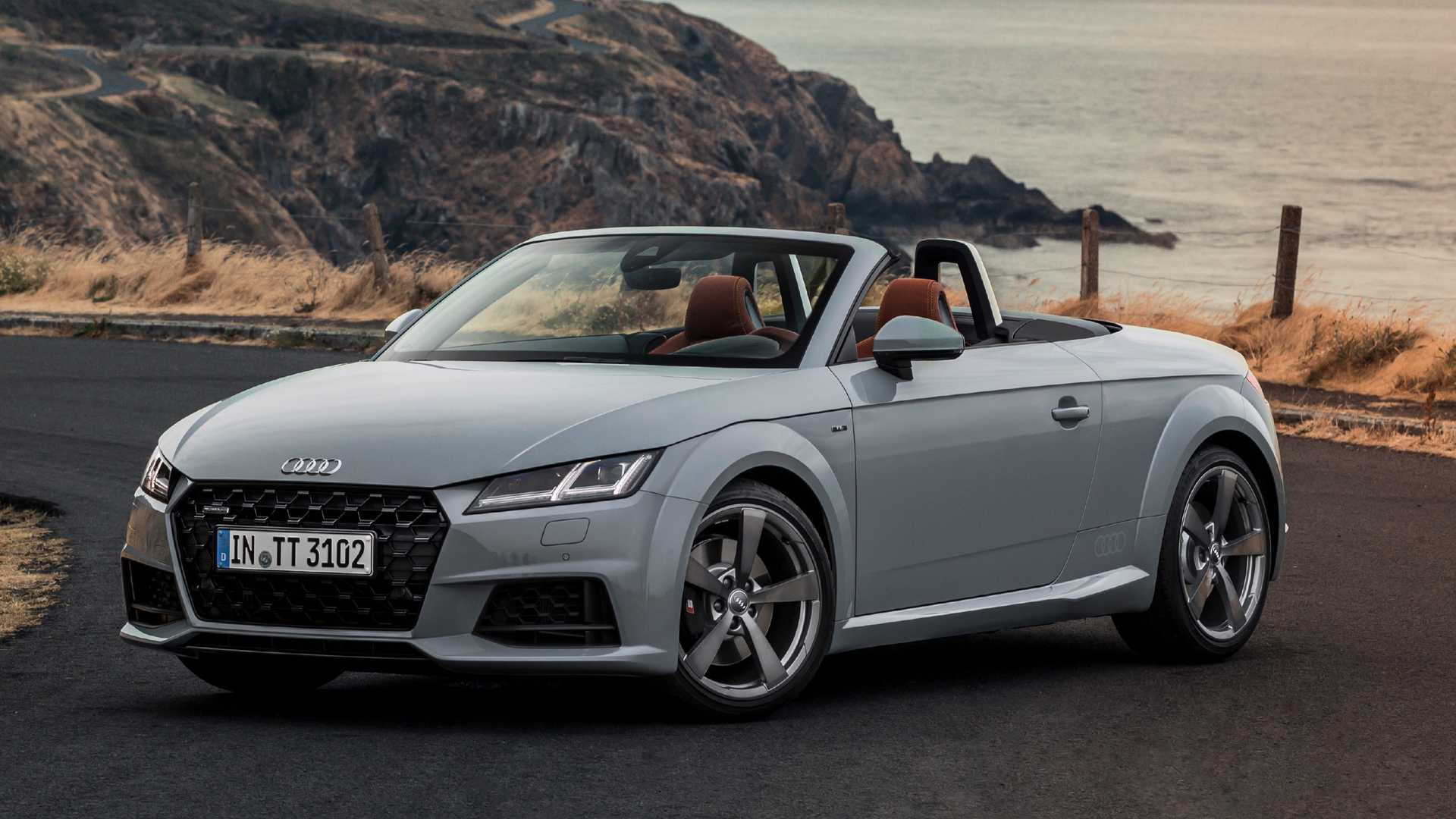 95 The The Audi Tt Convertible 2019 Concept Exterior by The Audi Tt Convertible 2019 Concept