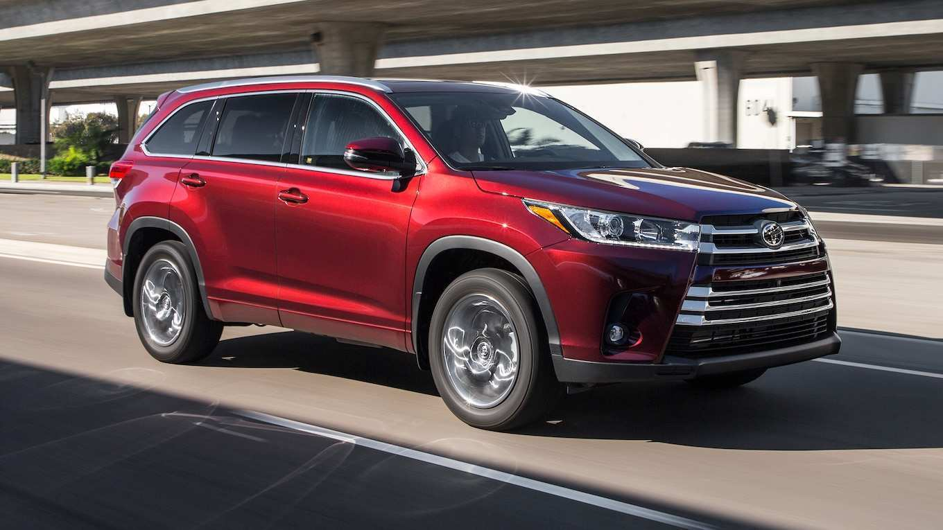 96 All New The Toyota Highlander 2019 Redesign Concept Ratings for The Toyota Highlander 2019 Redesign Concept