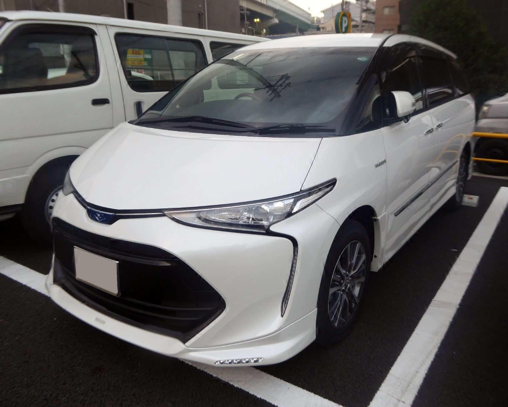 96 Concept of Toyota Estima 2019 Release Date with Toyota Estima 2019
