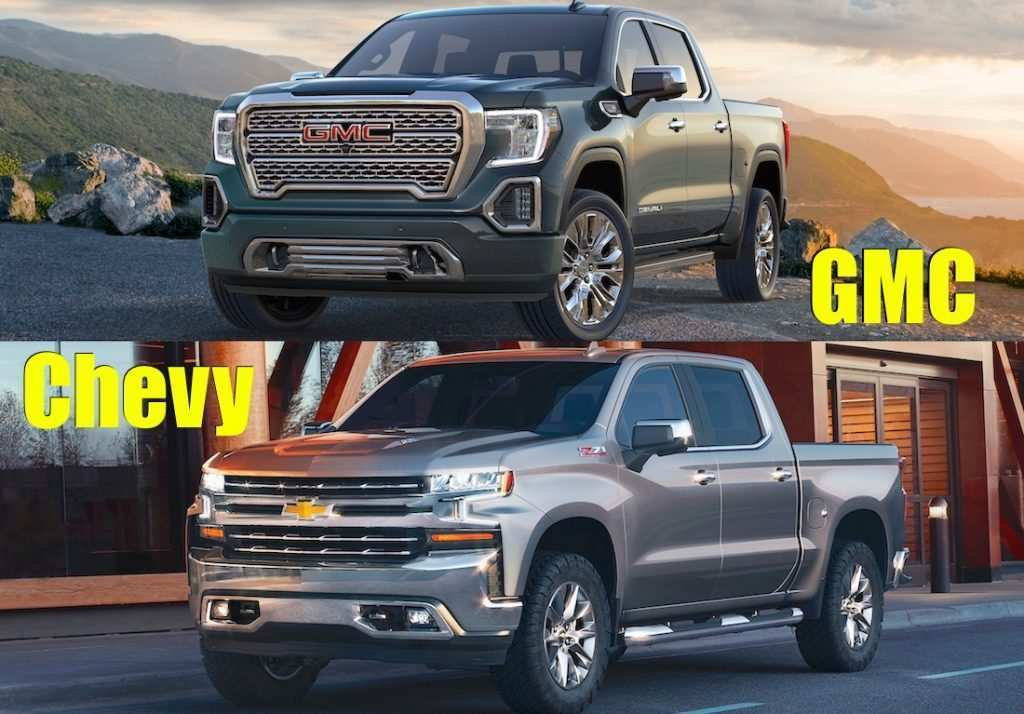 96 New New 2019 Gmc Sierra Vs Silverado Review Specs And Release Date Ratings by New 2019 Gmc Sierra Vs Silverado Review Specs And Release Date