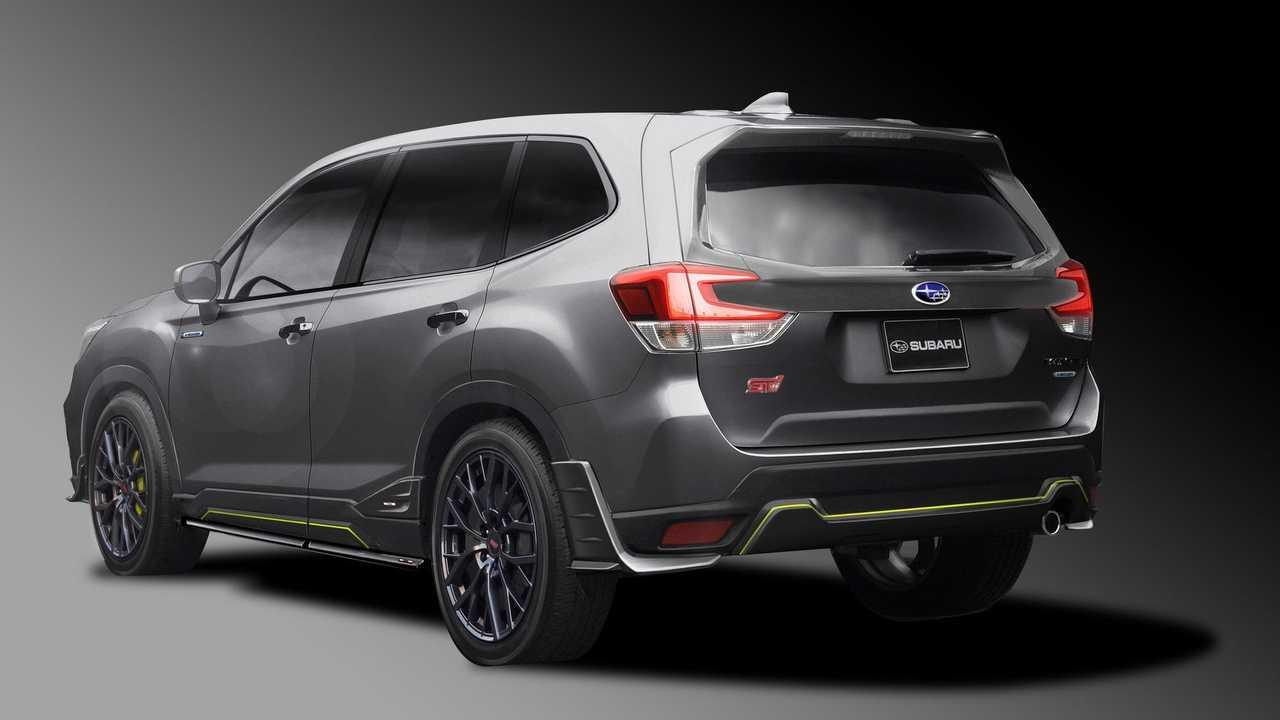 96 New The 2019 Subaru Forester Sport Concept Photos with The 2019 Subaru Forester Sport Concept