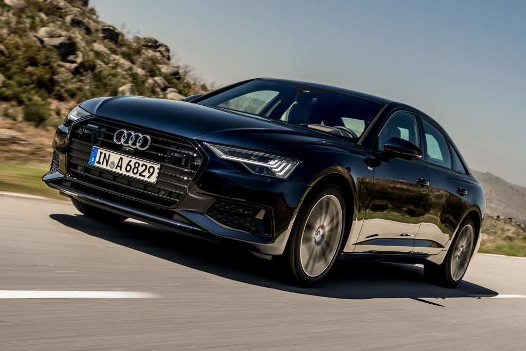 96 The Review Audi 2019 A6 New Interior Spy Shoot by Review Audi 2019 A6 New Interior