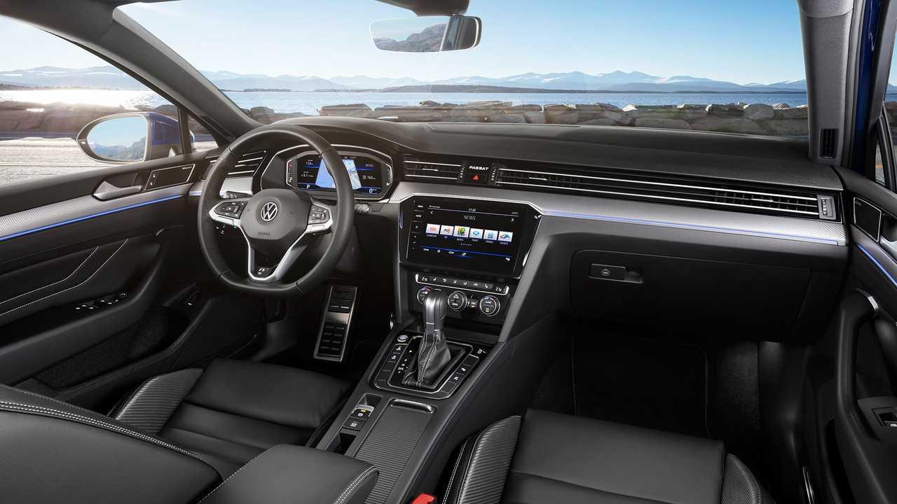 97 All New The Volkswagen Passat 2019 Interior Spy Shoot Price and Review by The Volkswagen Passat 2019 Interior Spy Shoot