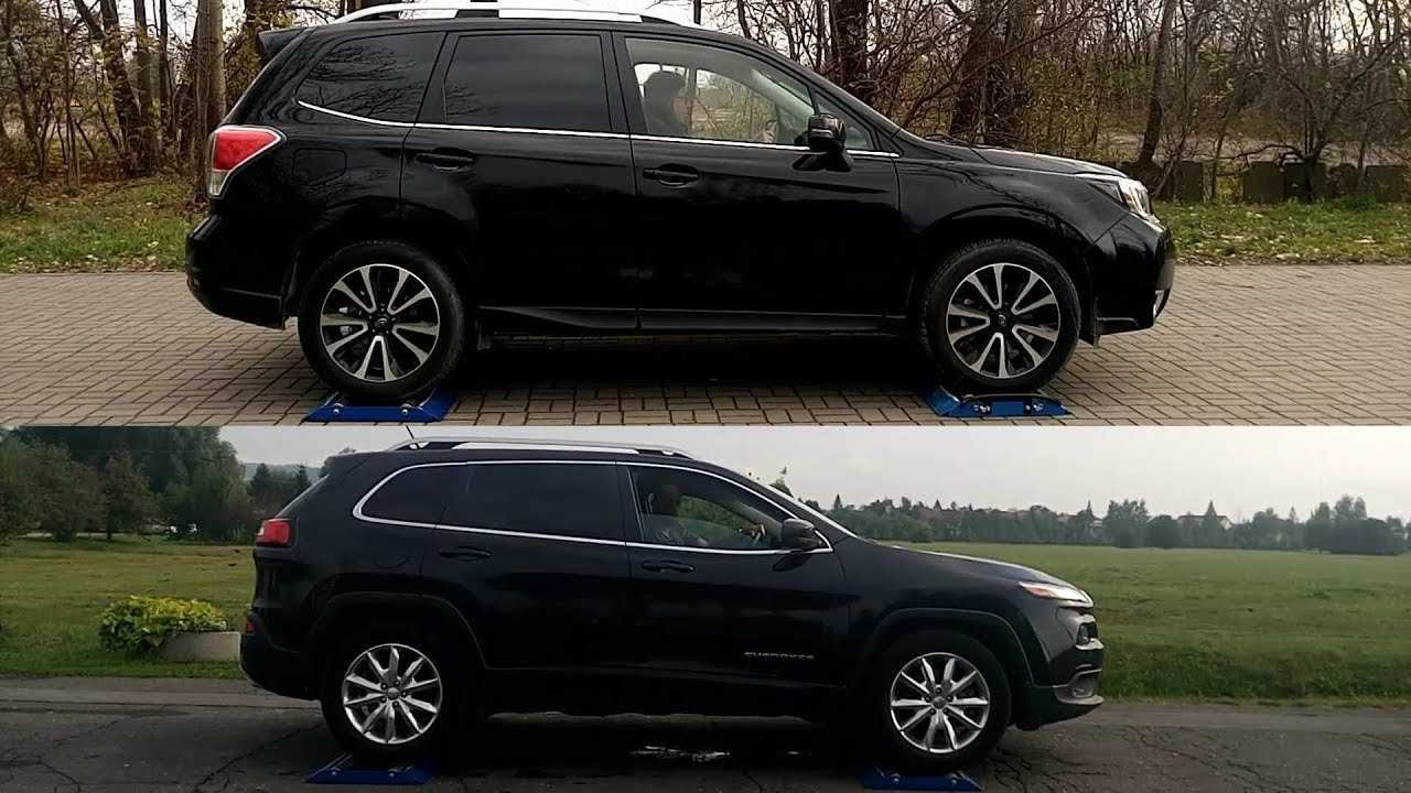 98 All New The 2019 Subaru Forester Vs Jeep Cherokee Review Reviews by The 2019 Subaru Forester Vs Jeep Cherokee Review
