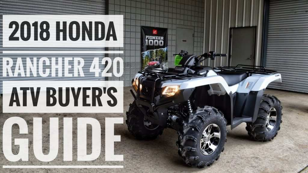 98 All New The Atv Honda 2019 Release Specs And Review Spesification with The Atv Honda 2019 Release Specs And Review