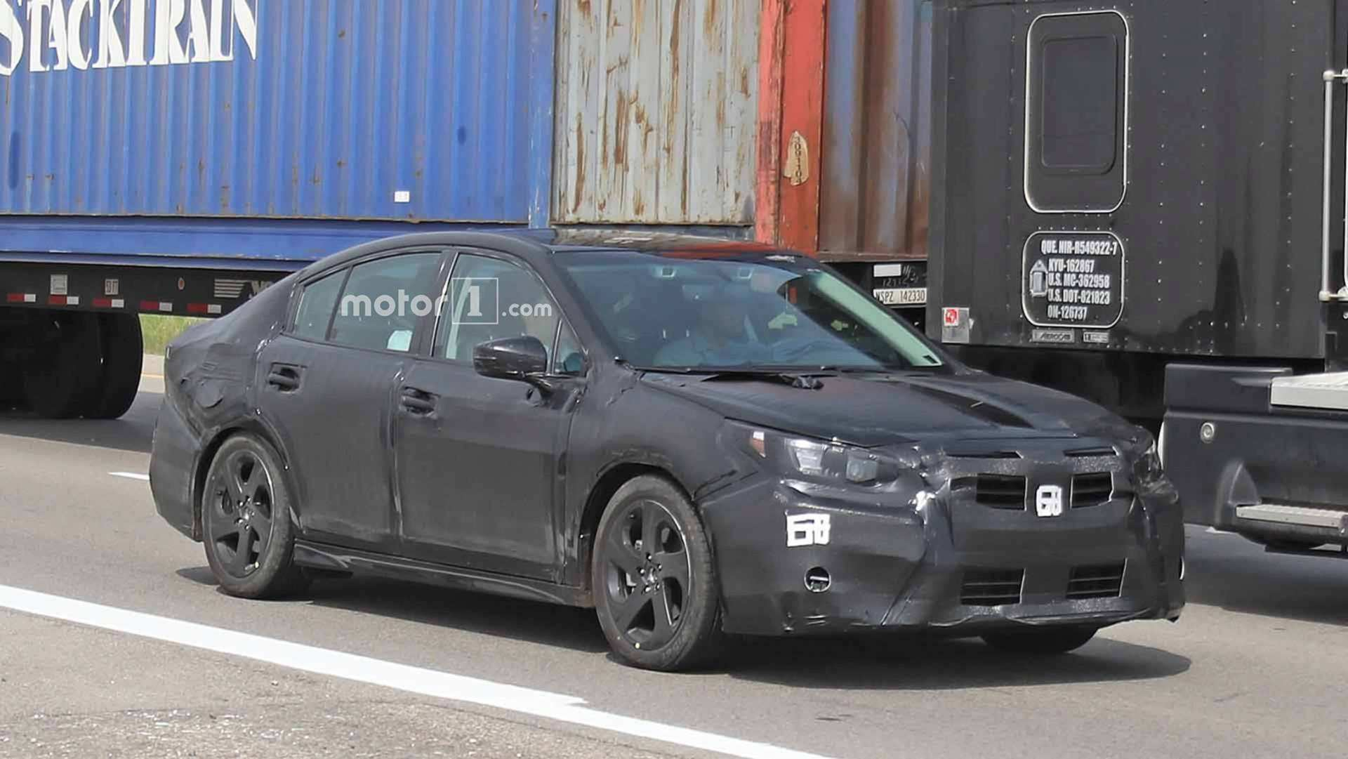 98 Best Review The Subaru Global Platform 2019 Spy Shoot Redesign and Concept with The Subaru Global Platform 2019 Spy Shoot