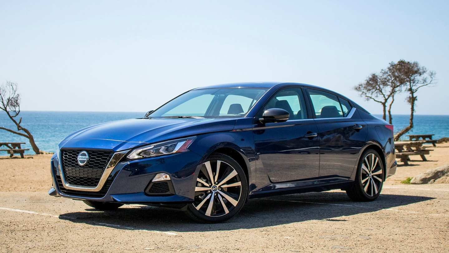 98 Concept of The 2019 Nissan Altima Horsepower First Drive Overview for The 2019 Nissan Altima Horsepower First Drive