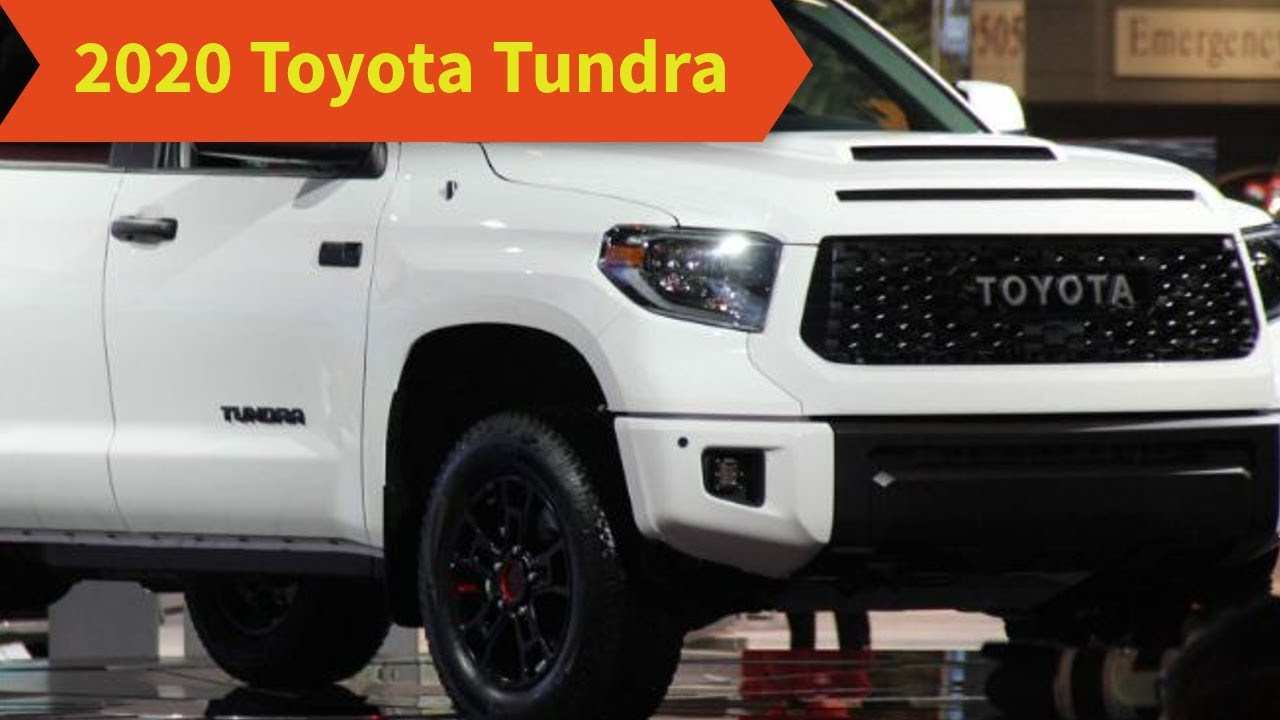 19 Concept of 2020 Toyota Tundra Concept Rumors for 2020 Toyota Tundra Concept